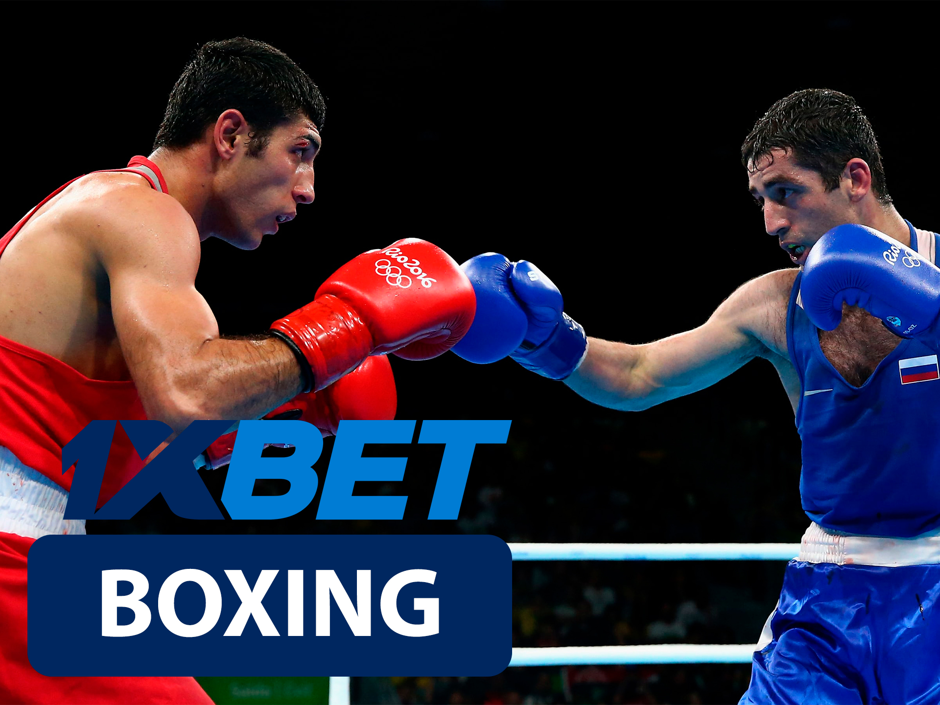 Start betting on boxing with 1xBet.