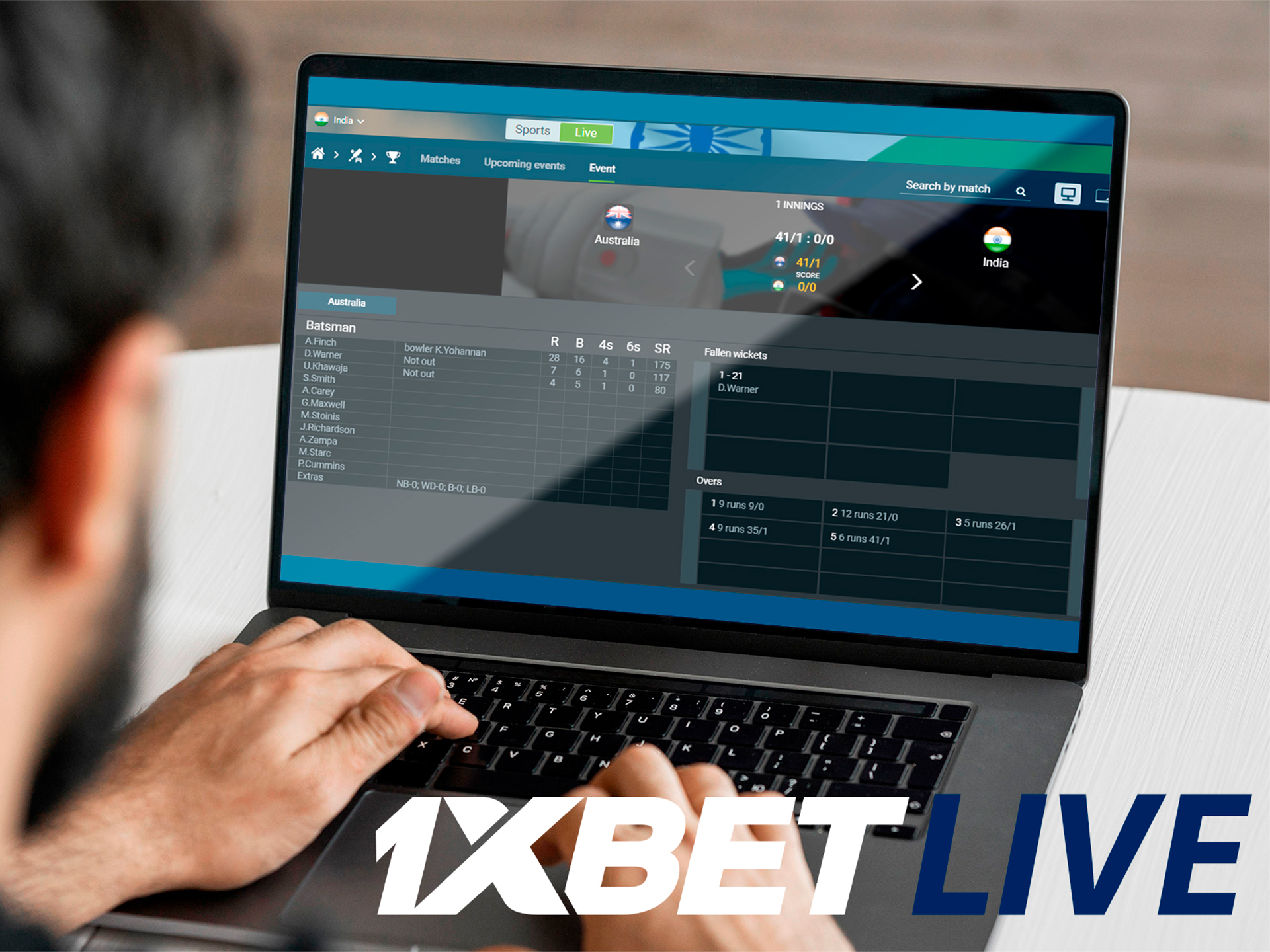 Bet on live events now!