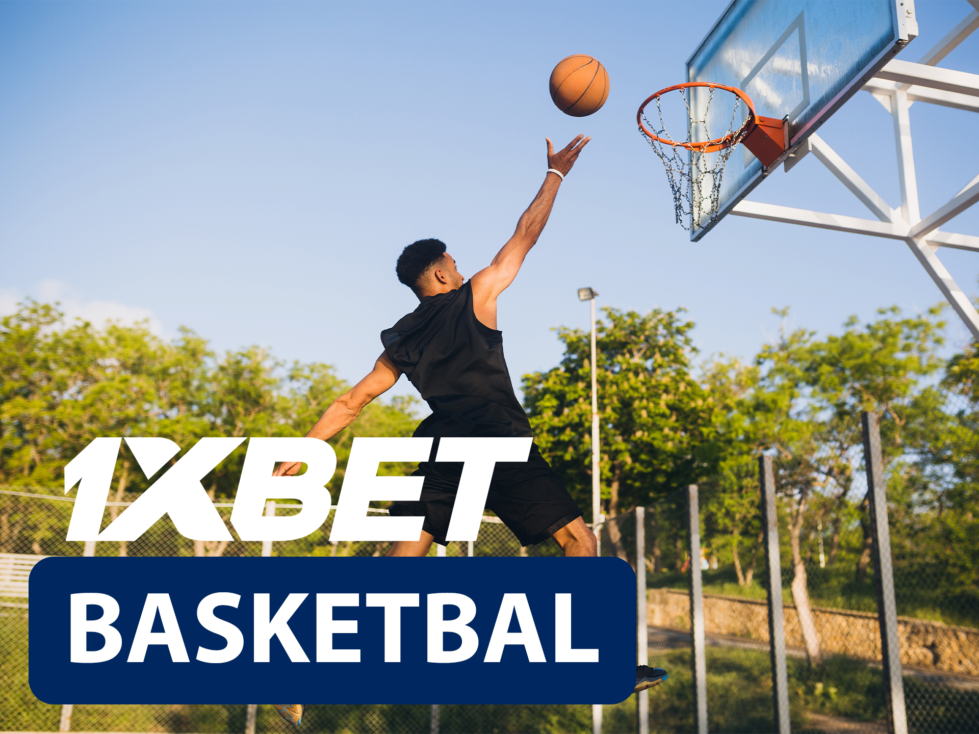 Start betting on basketball with 1xBet.