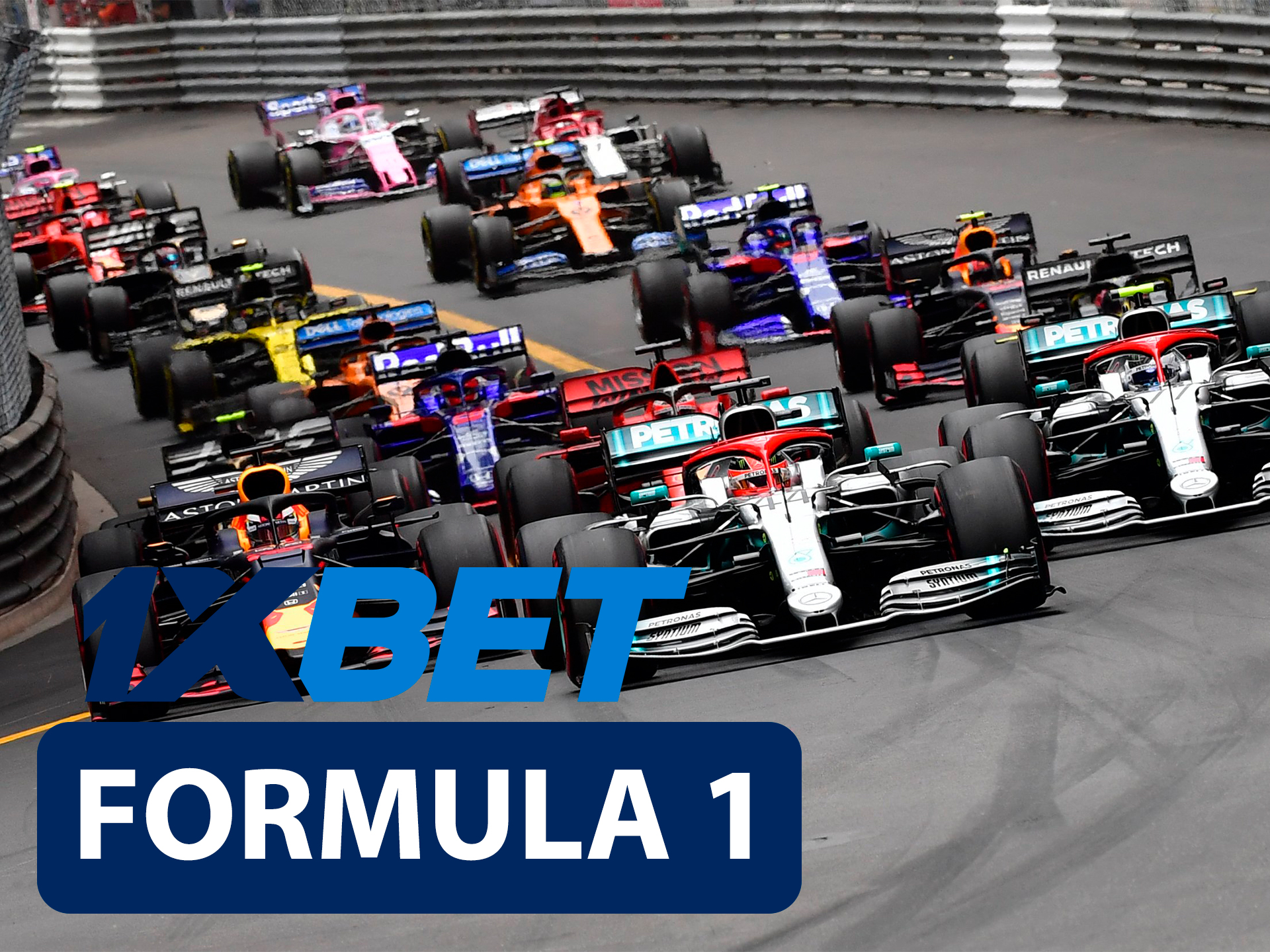 Start betting on Formula 1 with 1xBet